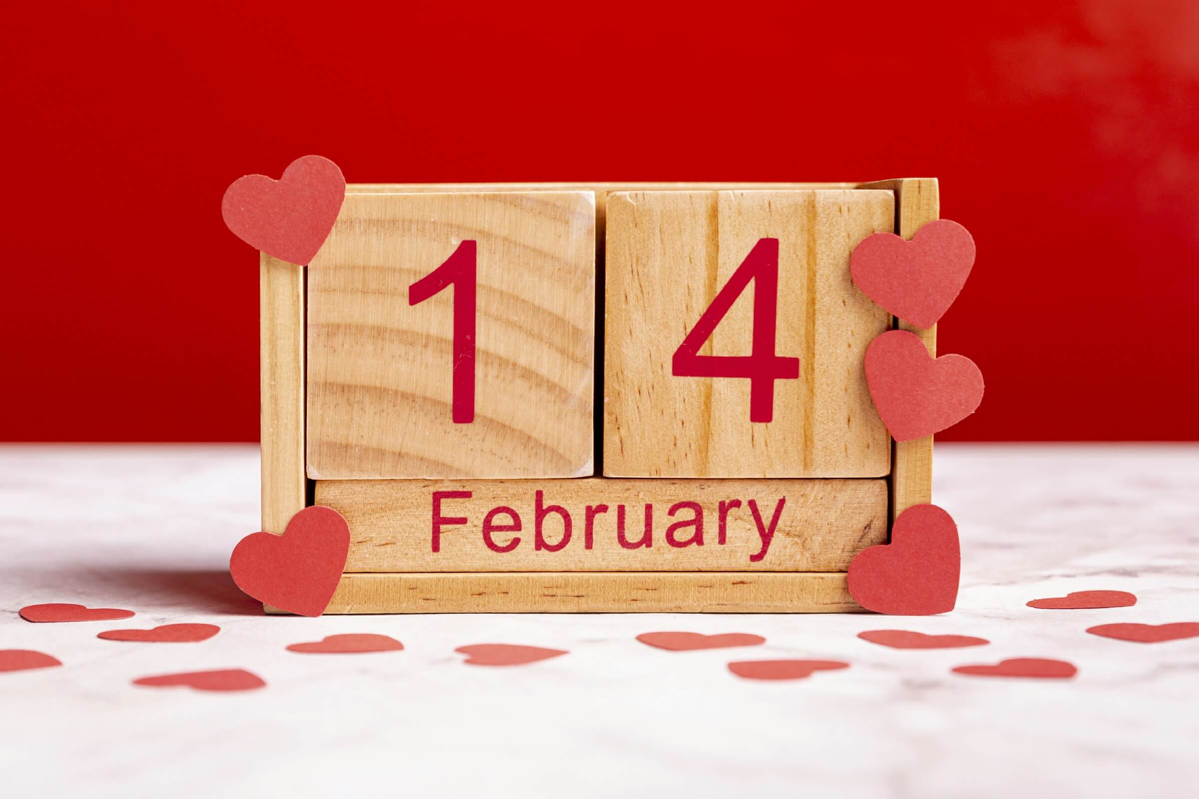 Romantic Reminder as Valentines Decoration for Office