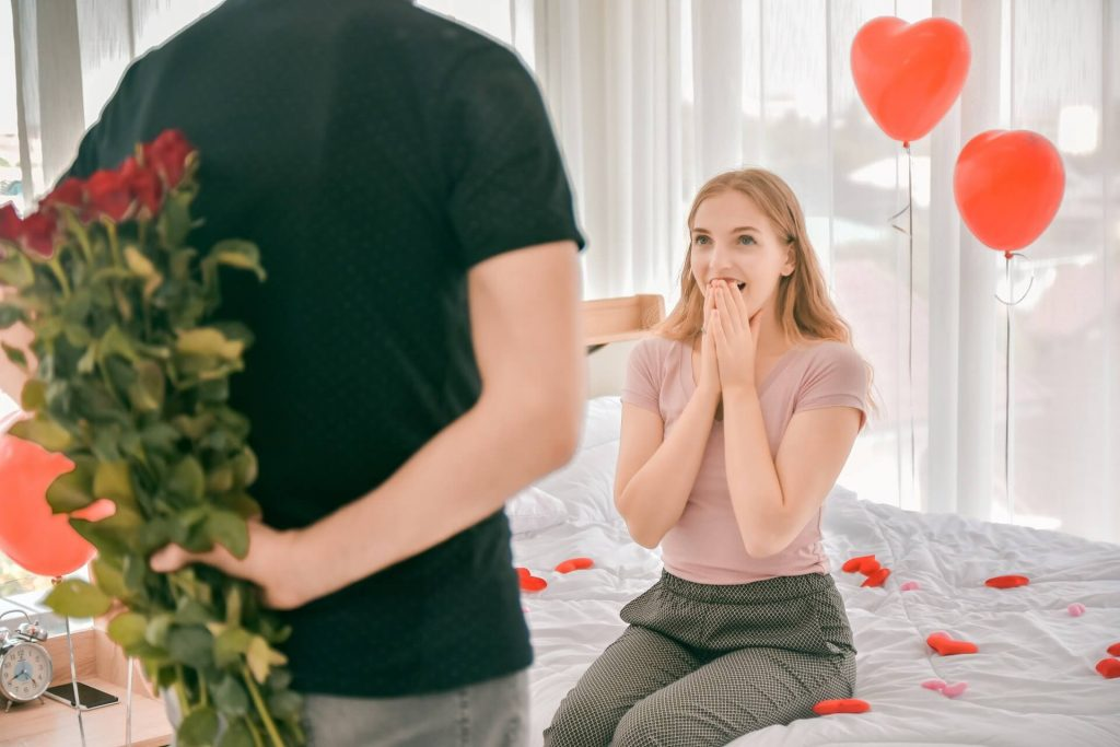 Valentine's day decoration ideas for bedroom