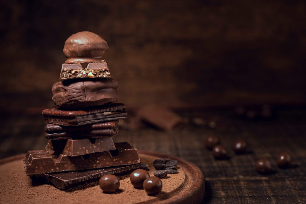 What are the health benefits of eating chocolate?