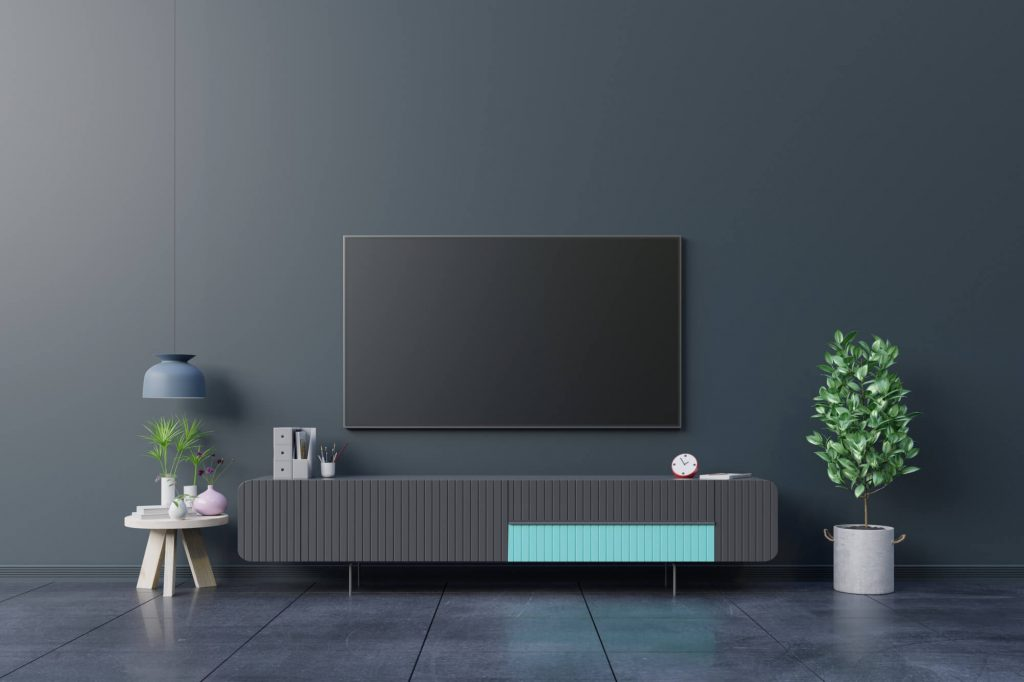 Living Room Wall, Mount Your Television