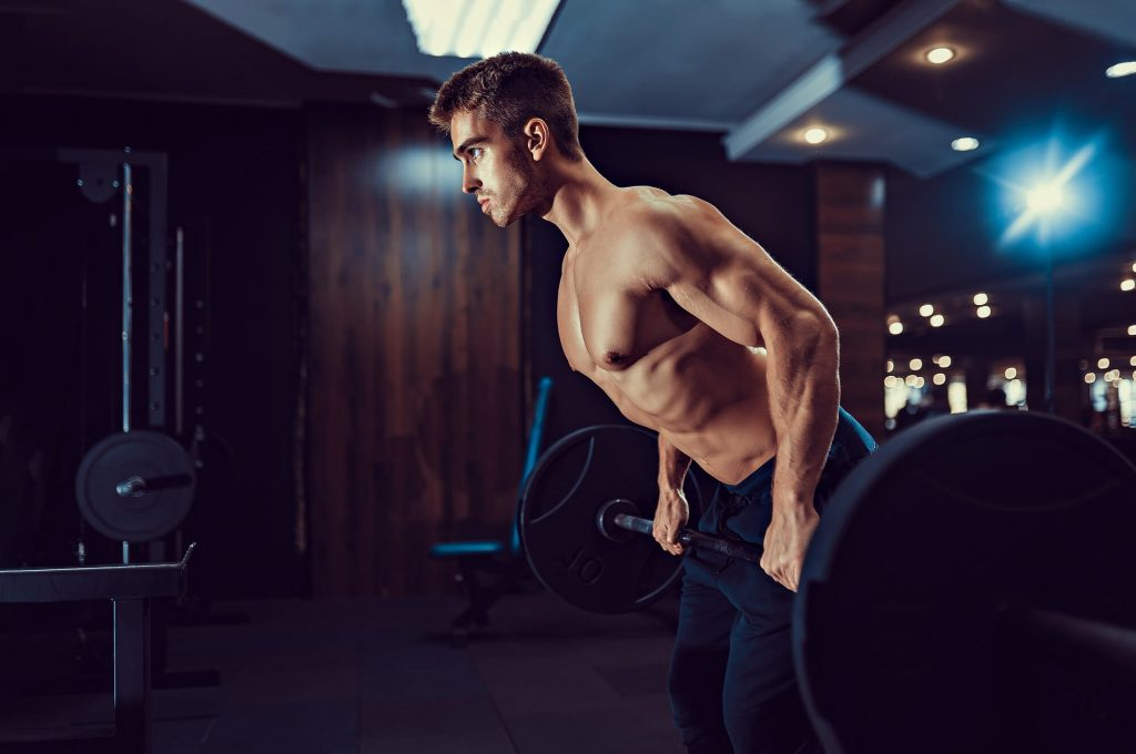 How to do a bent-over row?