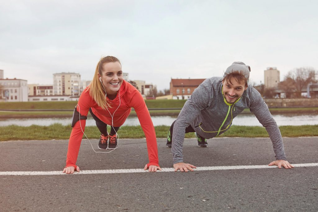 Muscular endurance exercises : How to do upper body push-up?