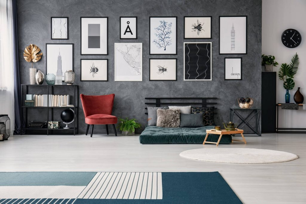 Unique wall hangings for living room decoration