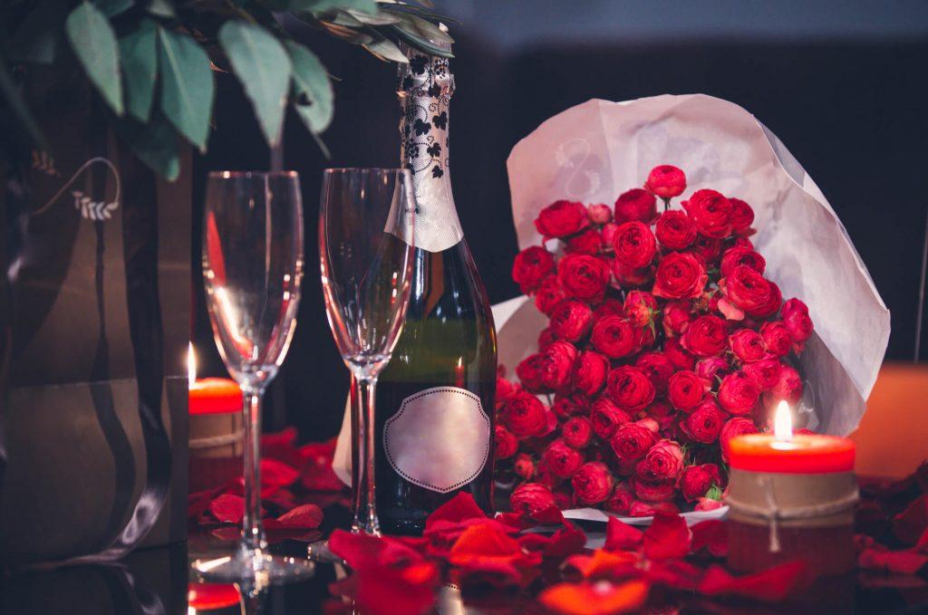 Romantic dinner table ideas