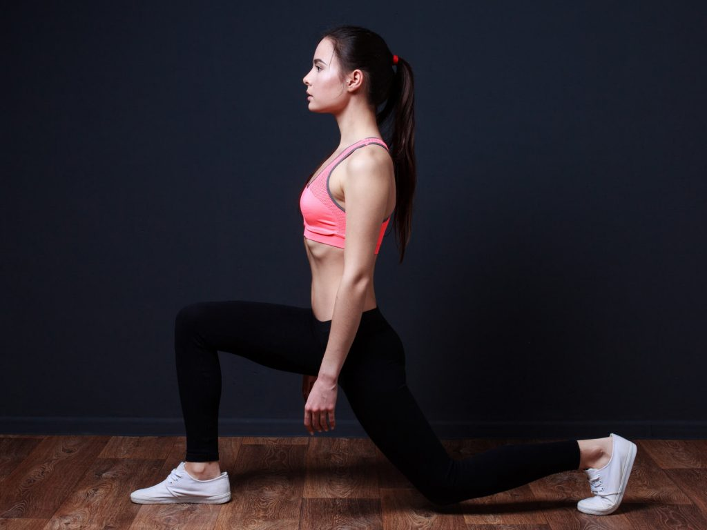 Muscular endurance exercises : How to do walking lunge?