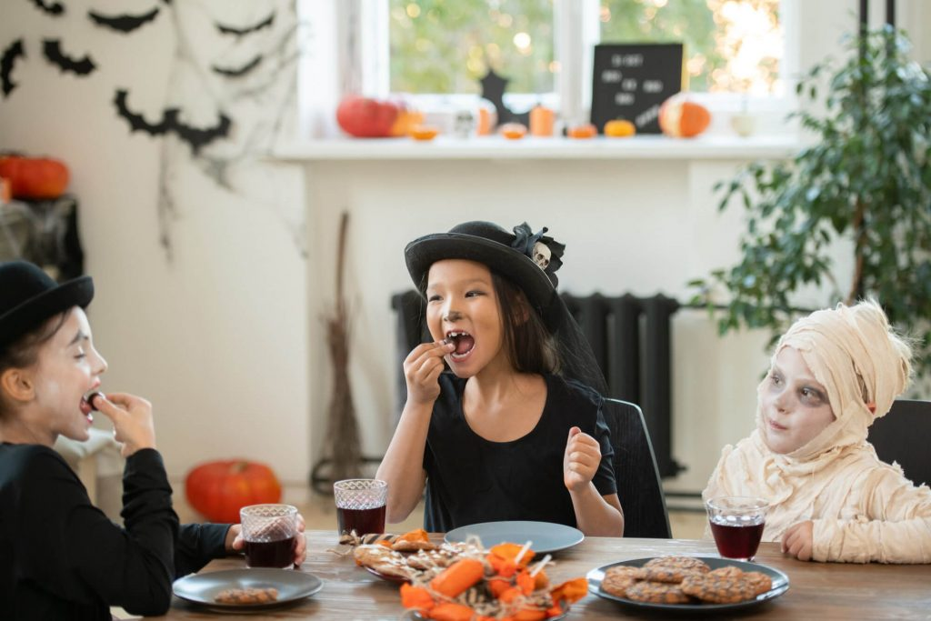 Host Halloween meal