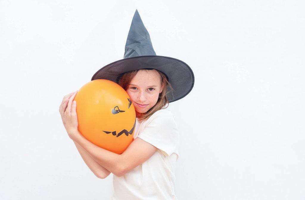 DIY Halloween decorations: Pumpkin patch