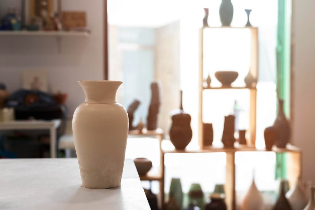 The pottery is all beautiful and elegant in its creativity and look