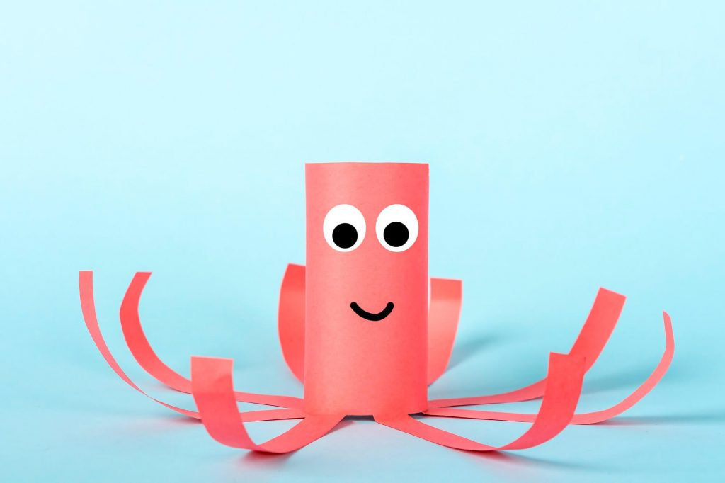 Handmade paper crafts are cute and easy to create