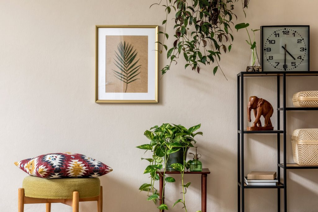 Wall art and accessories for room makeovers
