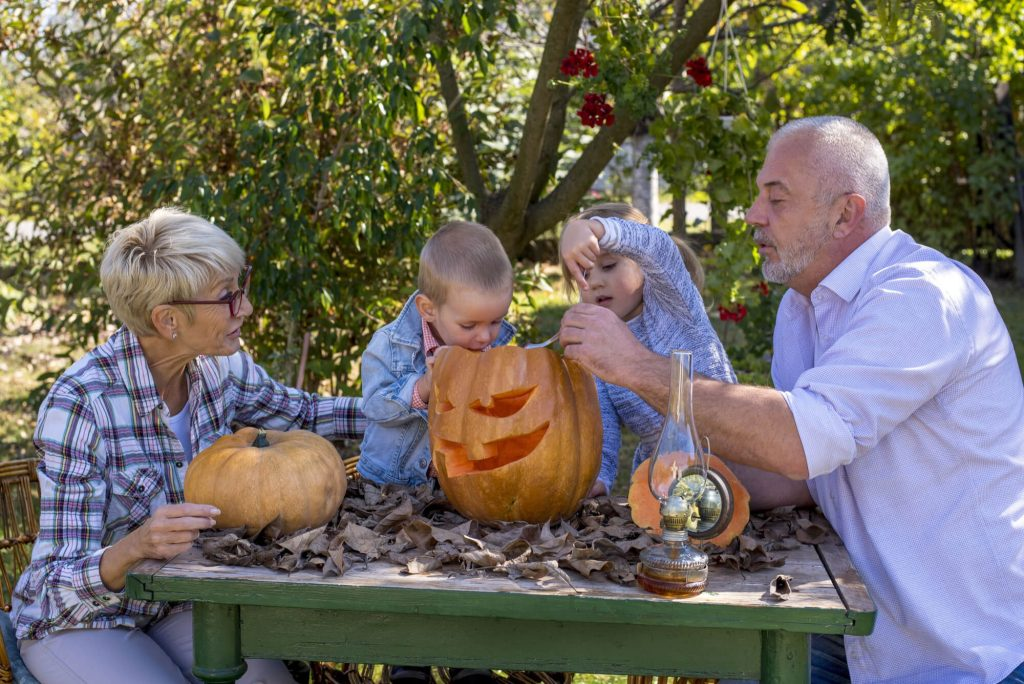 Go pumpkin picking and carving