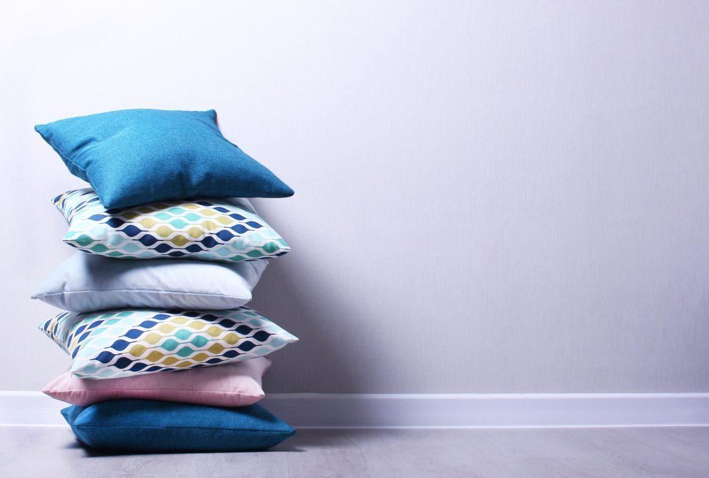 Pillows are cute small decor items
