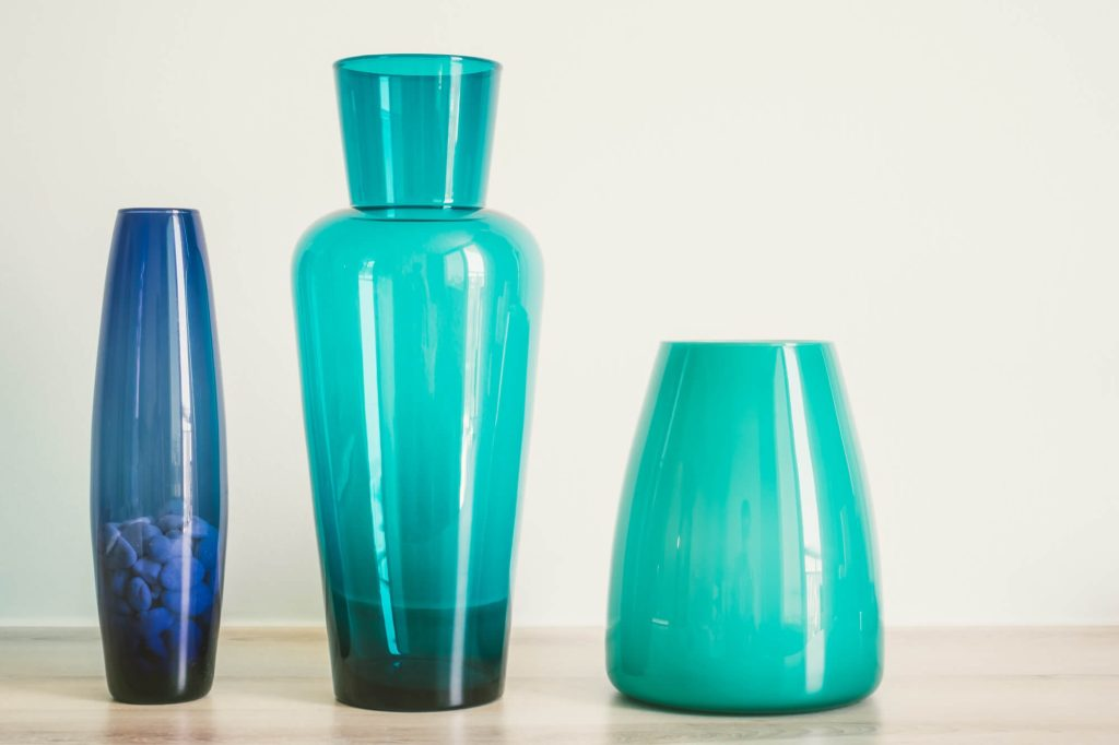 Vases are great small decor items